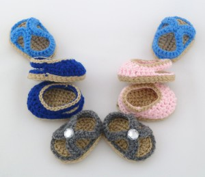 Summer Sandal Pack 2 Crochet Pattern pdf instant download easy slingback shoes arch sparkle