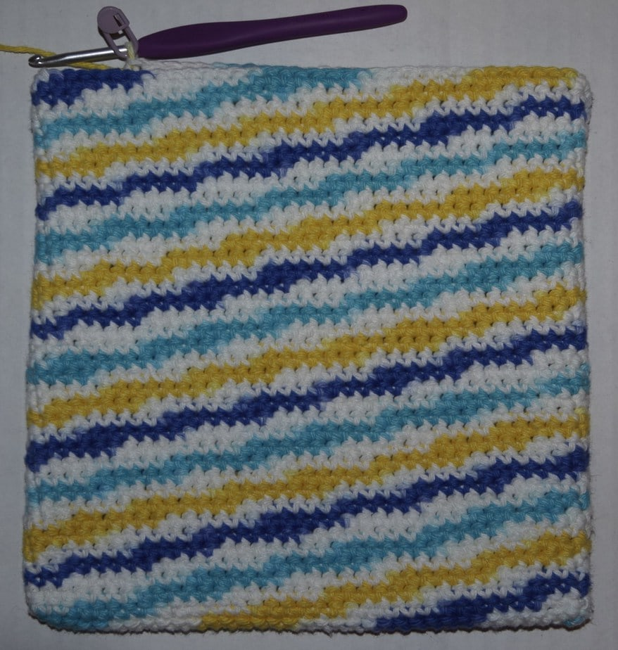 Free Double Thick Potholder Crochet Pattern – Yay for Yarn