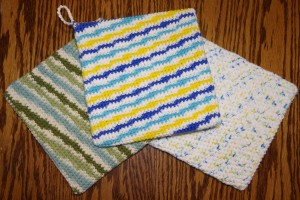 Free crochet pattern potholder pot holder trivet hot pad