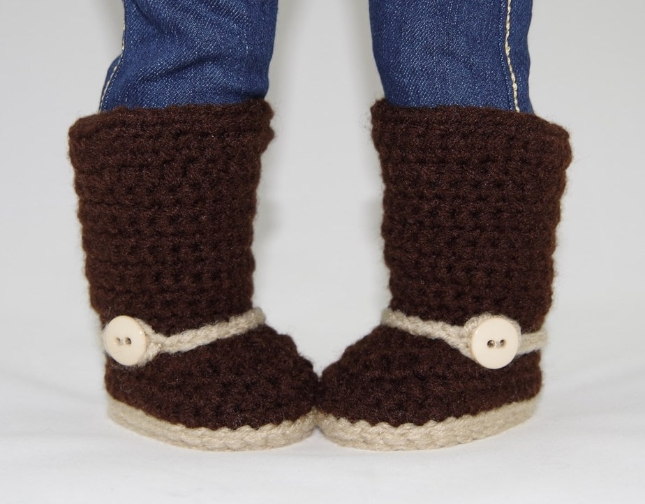 Western Riding Boots Crochet Pattern Fits American Girl ...