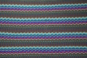 Ripple Stripe Wave Block Stitch Crochet Afghan - yayforyarn.com