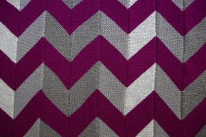Modern Ombre Chevron Knitted Lap Quilt - Yay For Yarn