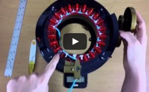 How to make flat panels on your Addi Knitting Machine