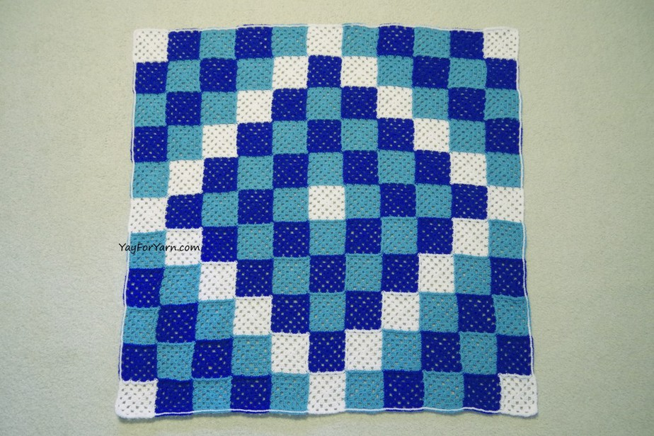Trip Around The World Granny Square Afghan