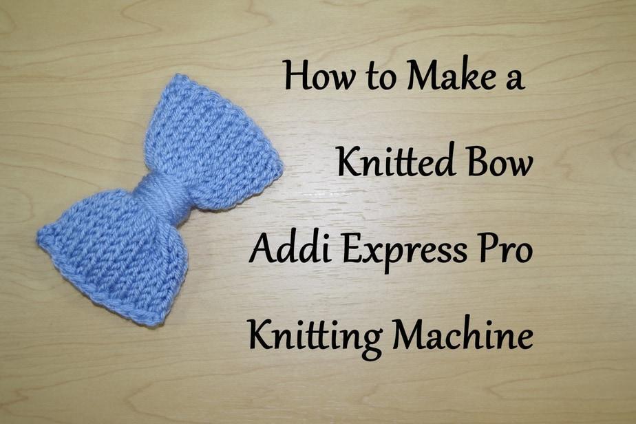Knitting Machine Tutorial : Addi express knitting machine tutorials yay for yarn
