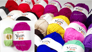 Giant Yarn BonBons!  SUNTQ Yarn Review