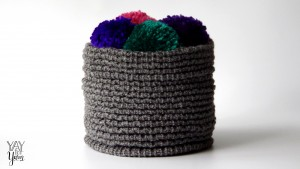 How to Make a Woven-Look Basket on your Addi Knitting Machine