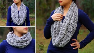 Boundless Cowl - A Seamlessly Grafted Infinity Scarf - FREE Crochet Pattern