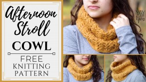 This lightweight, lacy cowl is the perfect accessory for breezy days. A simple, feminine project that knits up quickly with just one skein of yarn!