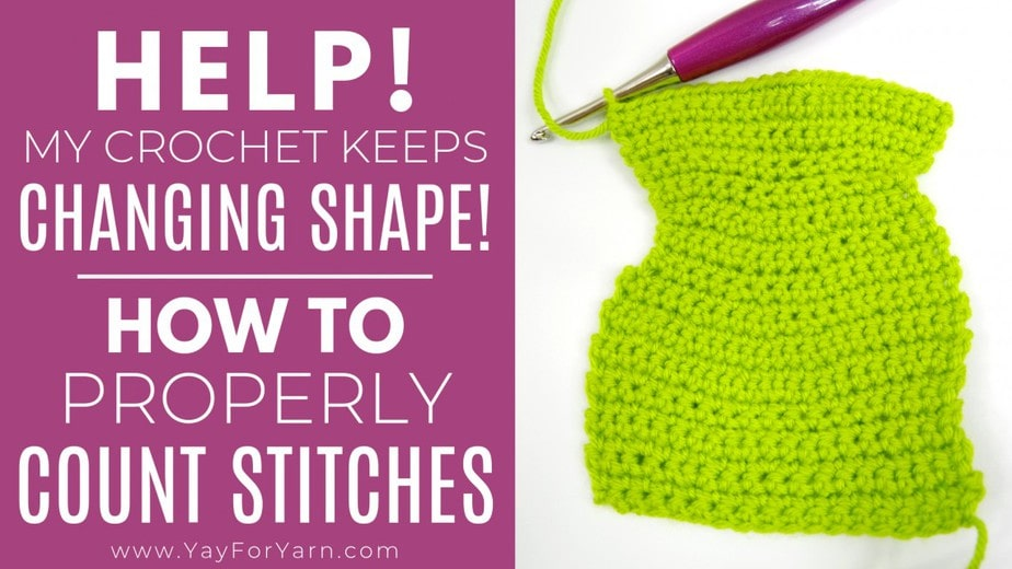 How to count stitches in crochet