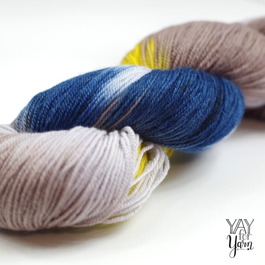 This yarn is hands-down, the softest, squishiest yarn I have ever touched!