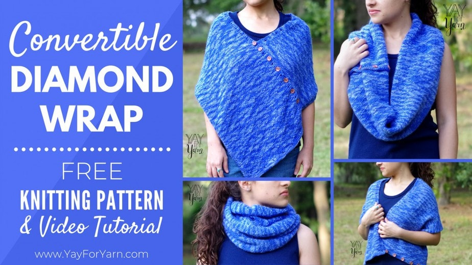 This versatile wrap can be worn many different ways!