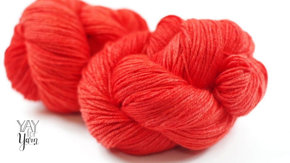 KnitCrate yarn subscription with knitting and crochet patterns