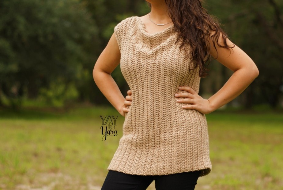 How to crochet an easy top for beginners