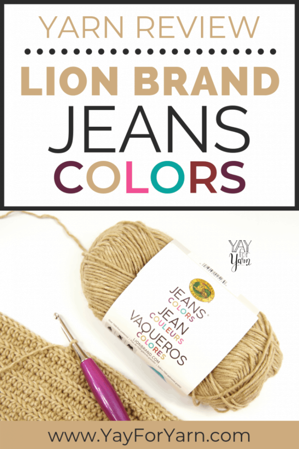 If you're looking for an all-purpose acrylic yarn with a premium feel, this yarn is a great choice! Click through for my full review with photos & video. #lionbrandyarn #yarnreview #acrylicyarn #worstedweightyarn #knittingyarn #crochetyarn