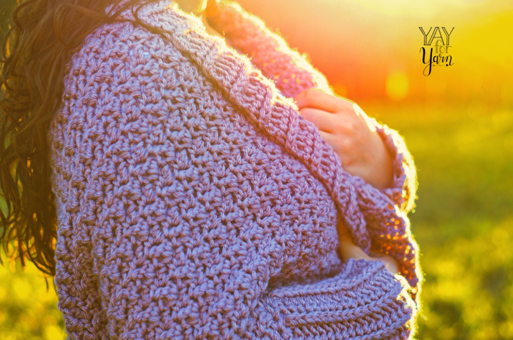 how to crochet a sweater for beginners - Cuddle Cardigan free crochet pattern