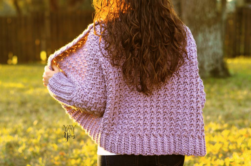 easy crochet sweater pattern for beginners plus size