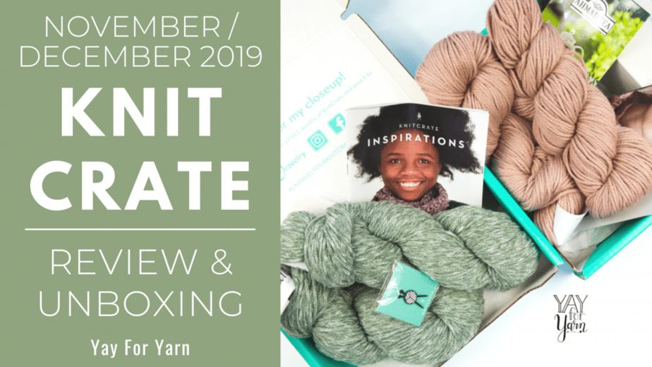November / December 2019 KnitCrates
