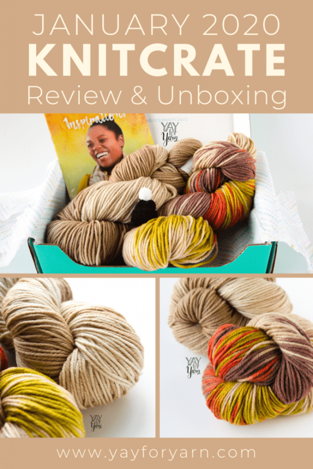 These coordinating hand-dyed yarn colorways are so unique! Plus, don't miss this exclusive coupon code, just for my readers. #luxuryyarn #handdyedyarn #yayforyarn #yarnsubscription #subscriptionbox #yarnreview #knitcrate