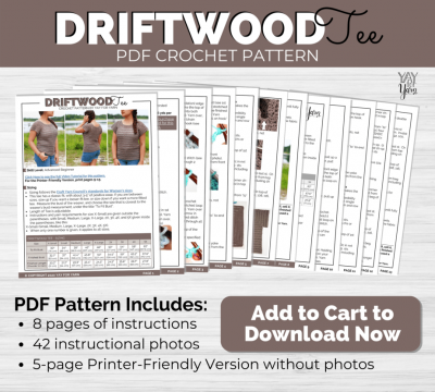 Driftwood Tee pdf listing photo
