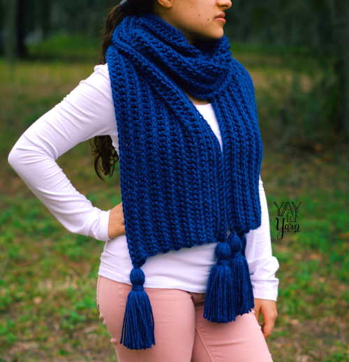crochet super scarf free pattern