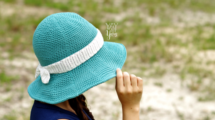 wide brim sunhat for babies and toddlers