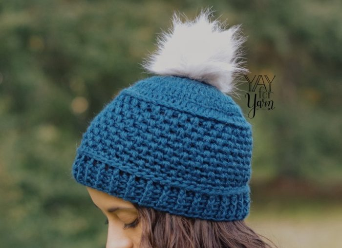 Puff Stitch Hat Crochet Pattern in 10 Sizes
