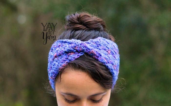 Easy Crochet Earwarmer Headband pattern for kids, babies, and women